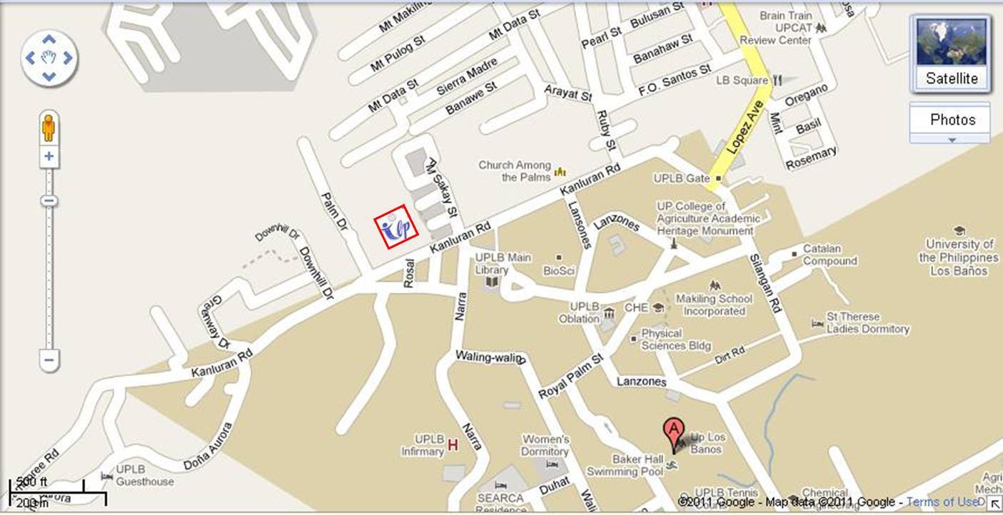 Review Masters UPCAT Review - Calamba city map