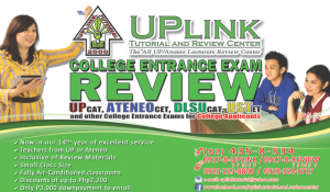 UPlink College Entrance Test Review